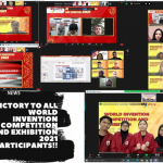 Victory to All World Invention Competition and Exhibition 2021 Participants!!